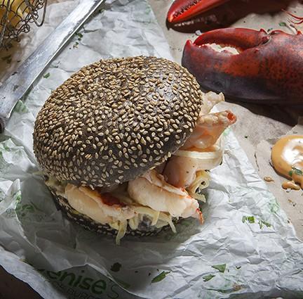 Denise's burger -  Lobster Roll -  ©Marc Ninghetto (3)