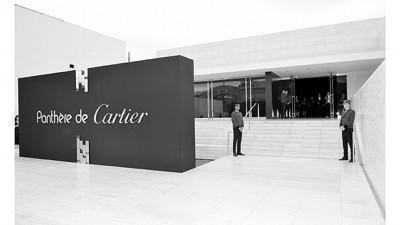 Cartier lance sa panthère à Los Angeles