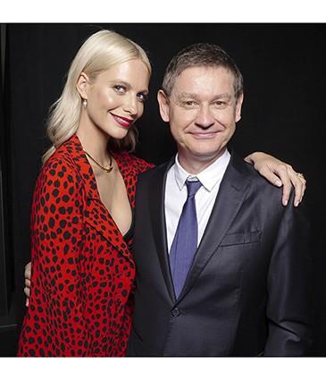 Poppy Delevingne & Cyrille Vigneron