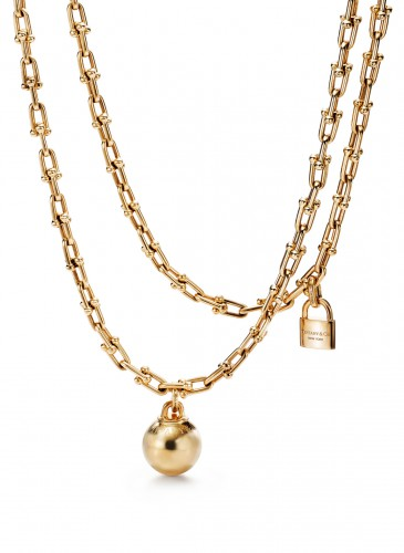 Tiffany City HardWear Chain Wrap Necklace in 18K Yellow Gold