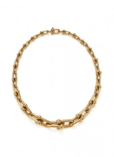 Tiffany City HardWear Graduated Chain Necklace in 18K Yellow Gold