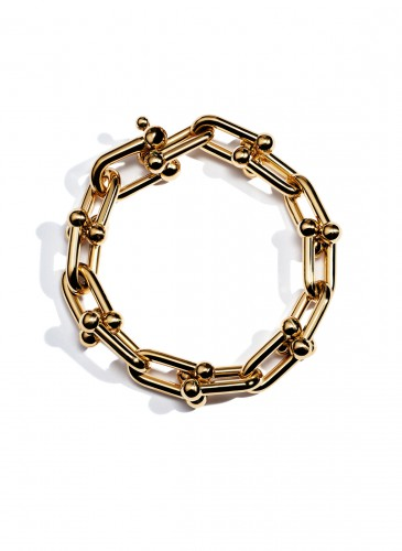 Tiffany City HardWear Large Chain Bracelet in 18K Yellow Gold1