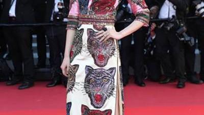 Gucci sur le tapis rouge de Cannes