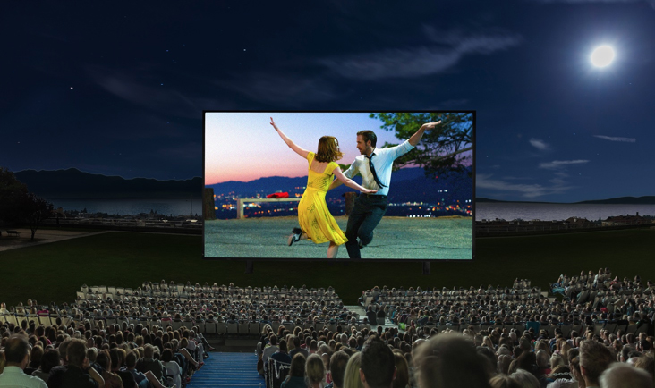 Allianz Cinema, le plus grand cinéma en plein air de Suisse !