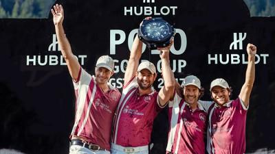 Cédric Schweri: grand gagnant de la Hublot Gold Cup à Gstaad