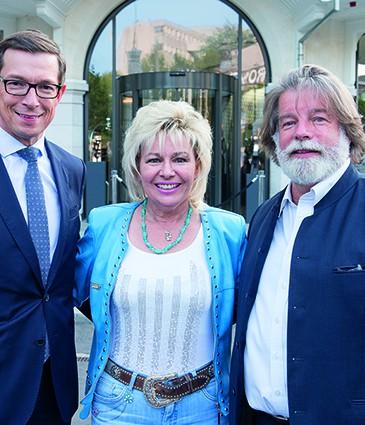 Alain Kropf GM du Royal Savoy_Carol Rich_Igor Ustinov