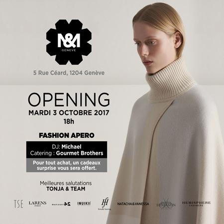 Fashion apero : Boutique M& ouvre à Genève