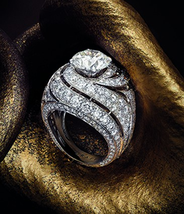 Swirl Collection Ring