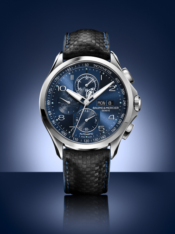 Baume & Mercier Clifton Club Shelby® Cobra Bucherer blue editions