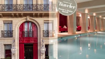La Réserve Paris – Hotel and Spa : le meilleur hôtel du monde en 2017.