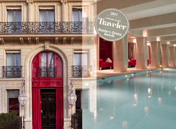 La r serve paris meilleur h tel du monde cote magazine - Hotel tendance paris ...