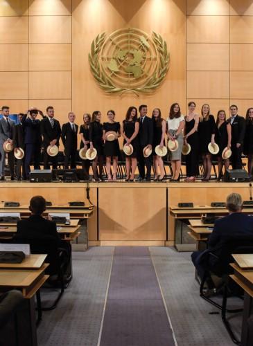 Cérémonie EHG Oct17 - Salles des Assemblées à l'ONU