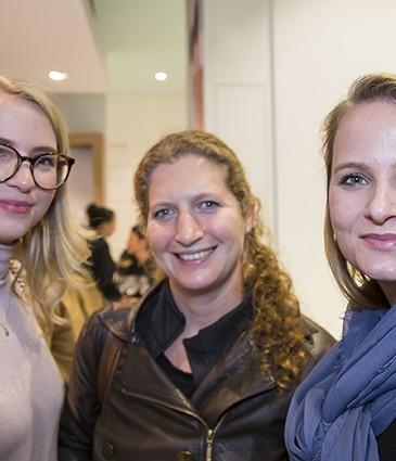 Julia Andersen (Chado), Christel Gigandet et Véronique Goerg (labulledevero.com)