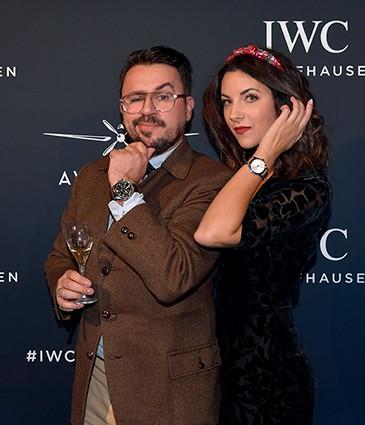 IWC Schaffhausen Opening Les Aviateurs Geneva