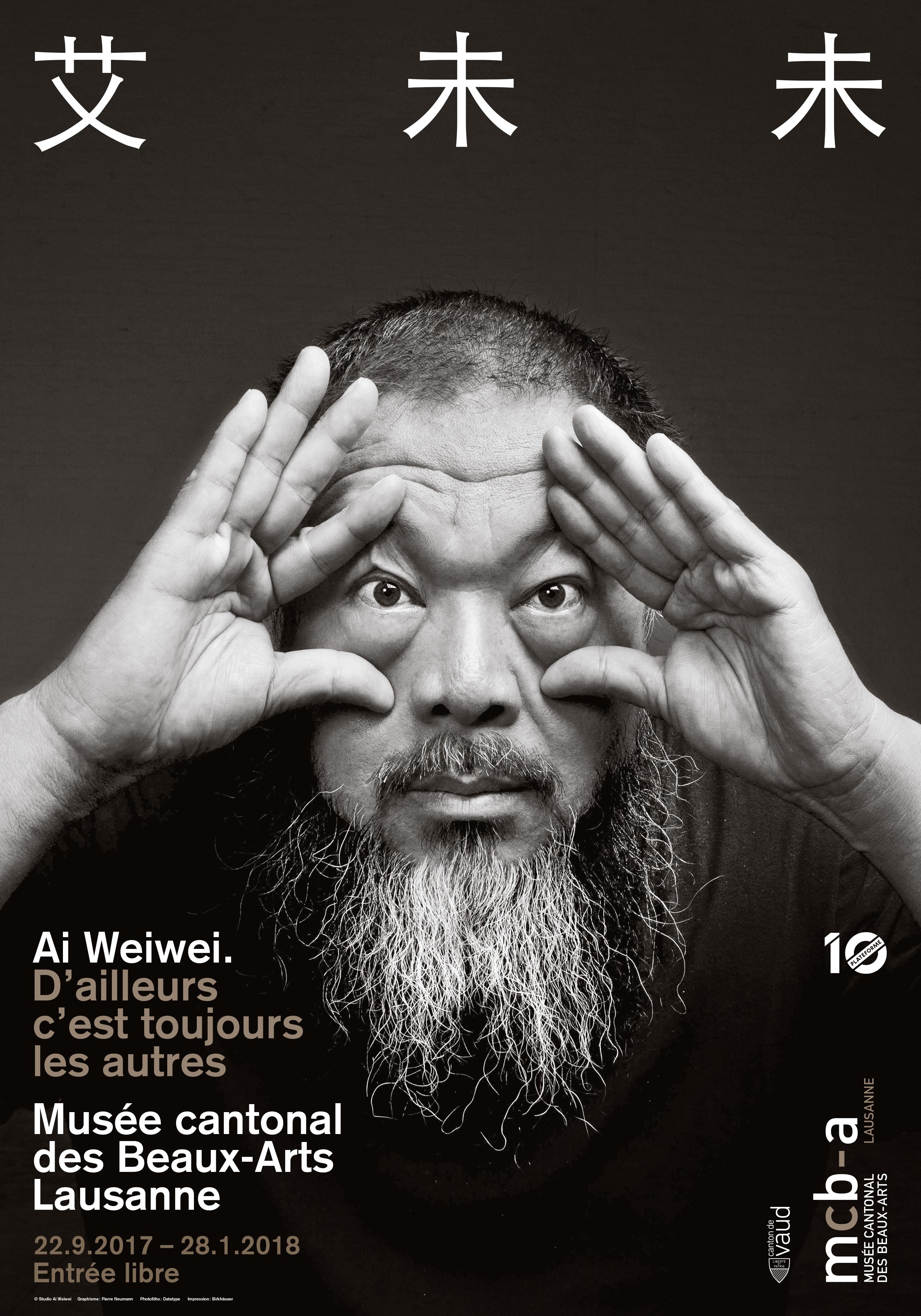 AI Weiwei. D'ailleurs c'est toujoursles autres…