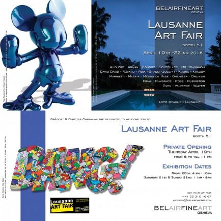 Lausanne Art Fair 2018