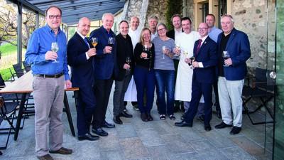 Soirée Swiss Winemakers au Domaine de Châteauvieux