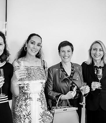 1_Isabelle Roméas, Sabah Thibault, Odile Mamane, Nicole Voillat