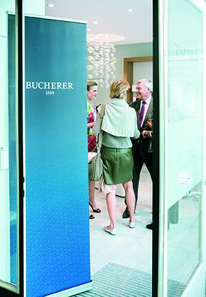 Ambiance-1_Rachel Polla (CEO Forever) et Claude Jutzi (CEO Bucherer Lausanne)