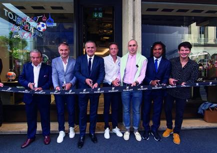 Benoit de Gorski, Stéphane Chapuisat, Ricardo Guadalupe, Rodolphe Gautier, Maxime Büchi, Christian Karembeu, Stéphane Lambiel