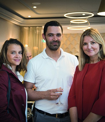 Caroline Murdy, Florent Lelièvre, Ciara Hurley Stewart