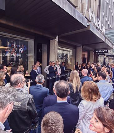 Hublot Geneva Boutique Opening