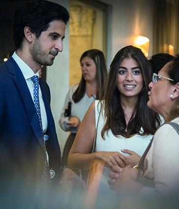 Mr. Olivier Sabet and Ms Mayssa Al Midani