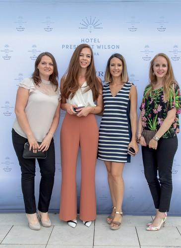 Hélène Triquenaux, Livia David, Sarah Hammerschlag, Tiffany Steinwender