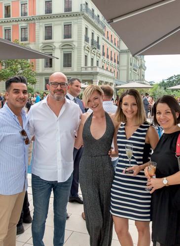 Mohcin El Hachimi, Nicolas & Lena Guyot, Sarah Hammerschlag, Stéphanie Oliver