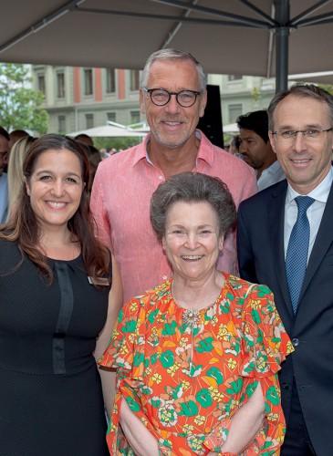 Olivia Deperi, Philippe Boissonnas, Erika Wanner, Thierry Euzen