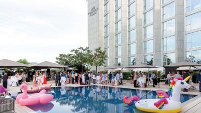 Summer Party à l'Hôtel Président Wilson