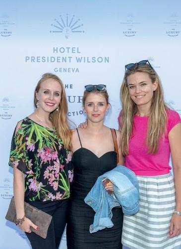 Tiffany Steinwender, Margaux Rey-Mermet, Katarina Zu Dohna