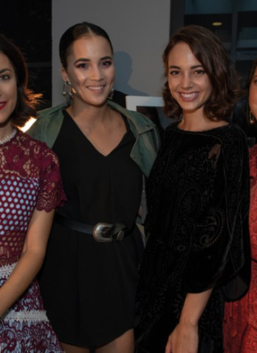 Morgane Schaller, Whitney Toyloy, Laetitia Guarino (Influencers) et Daniela Alves (Sparkle PR)_traité