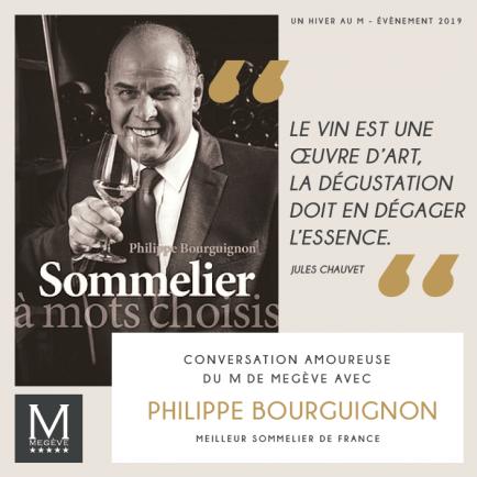 Philippe Bourguignon à l'Hôtel Le M de Megève (1)