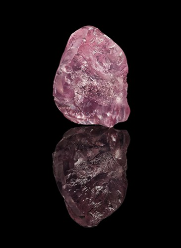 13.33ct Pink Diamond - Letseng Lesotho_black