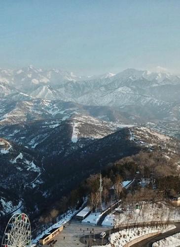 Colline de Kok Tobe sud-est Almaty