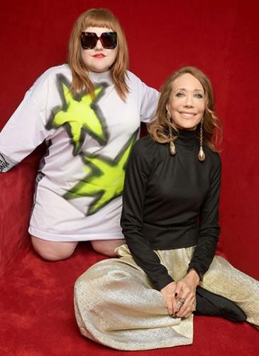 Beth Ditto & Marisa Berenson (2)