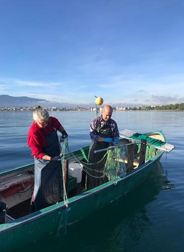 Pascale Dennis, pêcheuse attitrée