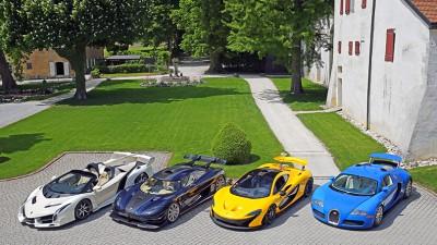 Bonhams de retour en Suisse avec une vente de Supercars !