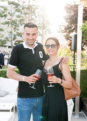 Jonas Schneiter and Aliziée Liechti
