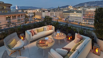 Le «Royal Penthouse», la nouvelle suite d'exception du Mandarin oriental