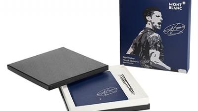Novak Djokovic x Montblanc: l'écriture au service de l'éducation