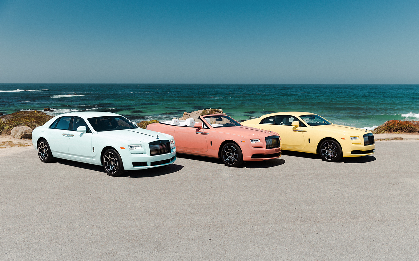 «Pebble Beach 2019», la nouvelle collection colorée by Rolls-Royce