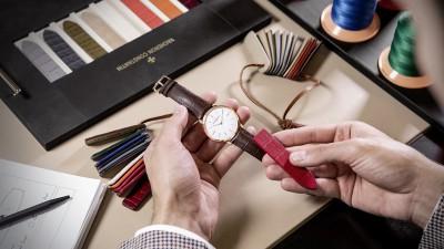 Personnalisez votre montre au Strap bar de la boutique Vacheron Constantin!
